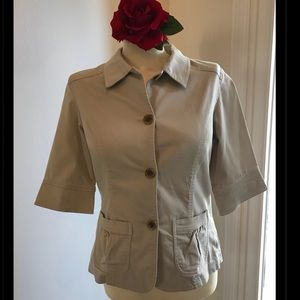 Cute Coldwater Creek Jacket-Size 10